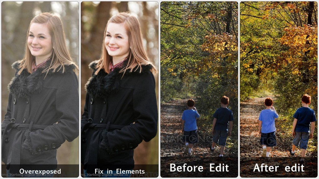 Before & After: Photoshop