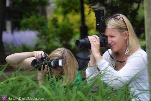 Girlfriends Photo Lesson, Glenwood Gardens