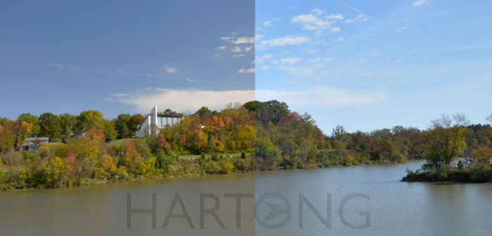 Circular Polarizer filter: better skies, water, fall color.