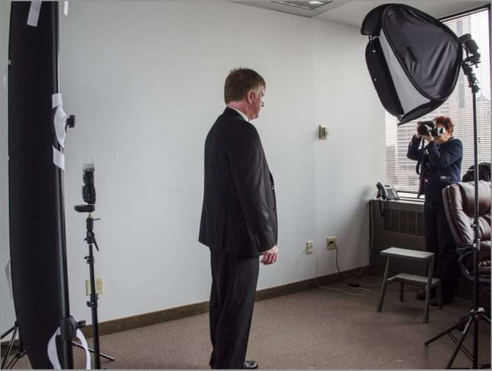head shots on location of ohio firefighters board members