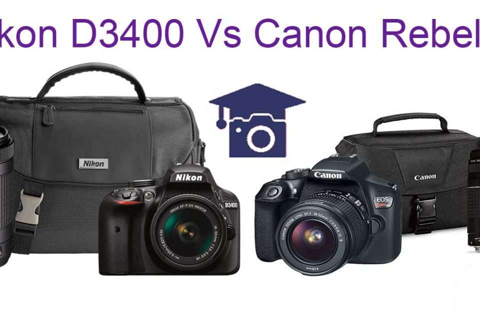 Compare Nikon D3400 to Canon Rebel T6